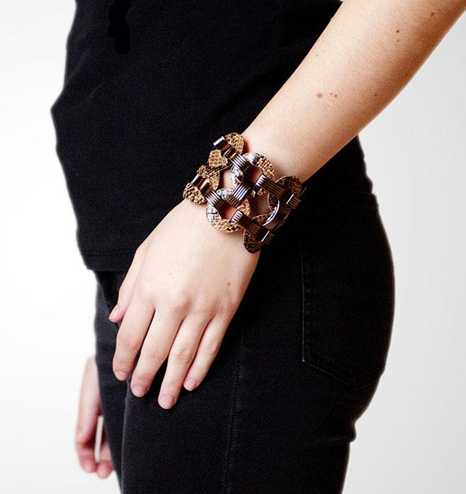 Habsa-Leather-Link-Bracelet
