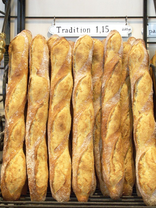 Baguette tradition a classic Parisian food