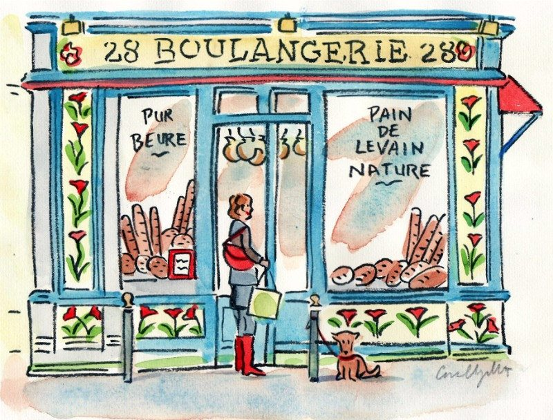 Boulangeries in Paris
