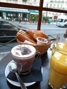 Paris food: breakfast