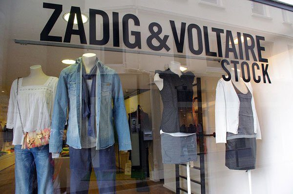 Zadig and Voltaire Stock Store