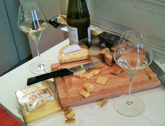 Antique cheese board