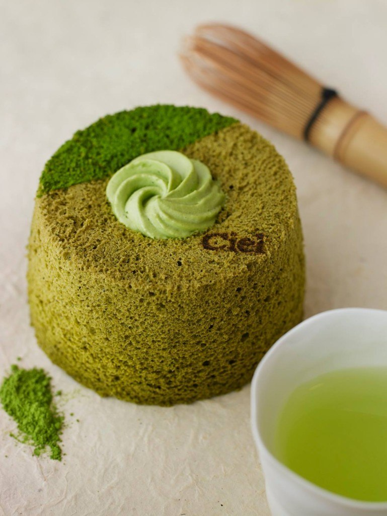 Matcha angel cake Paris Food
