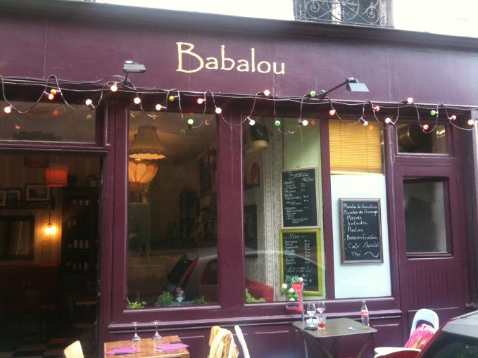 Le Babalou Pizza in Paris