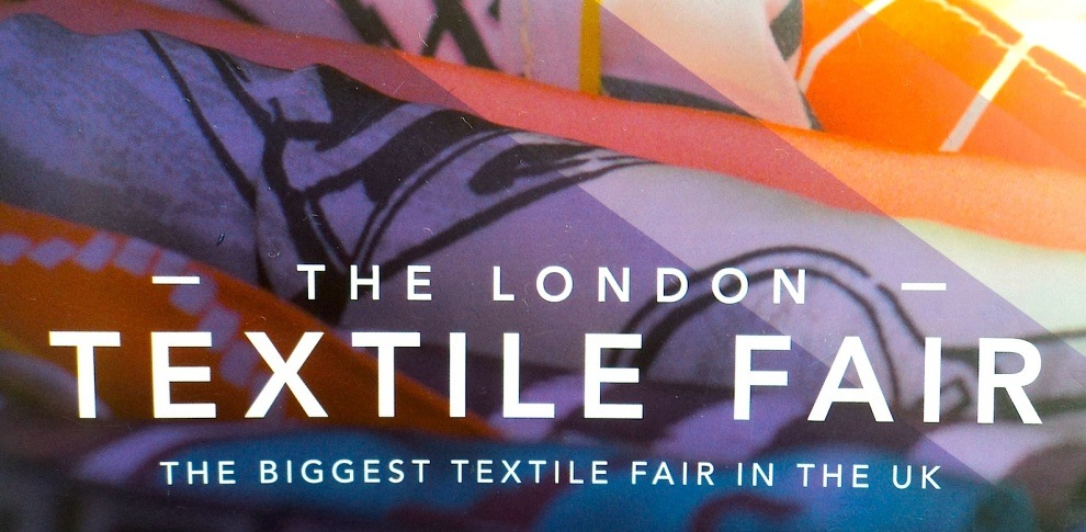 London Textile Fair 2015 Poster