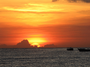 Scenic things to do in Bali: Sunrise at Lovina Beach