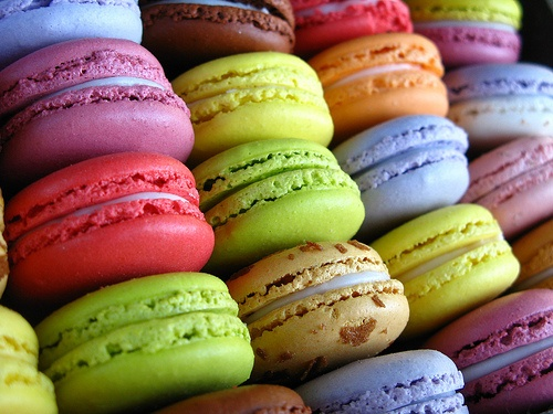 Macaroons in Paris for Dessert