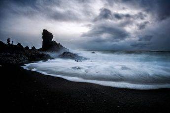 Iceland Black Sand Beaches