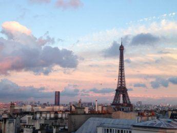 Sunrise in Paris