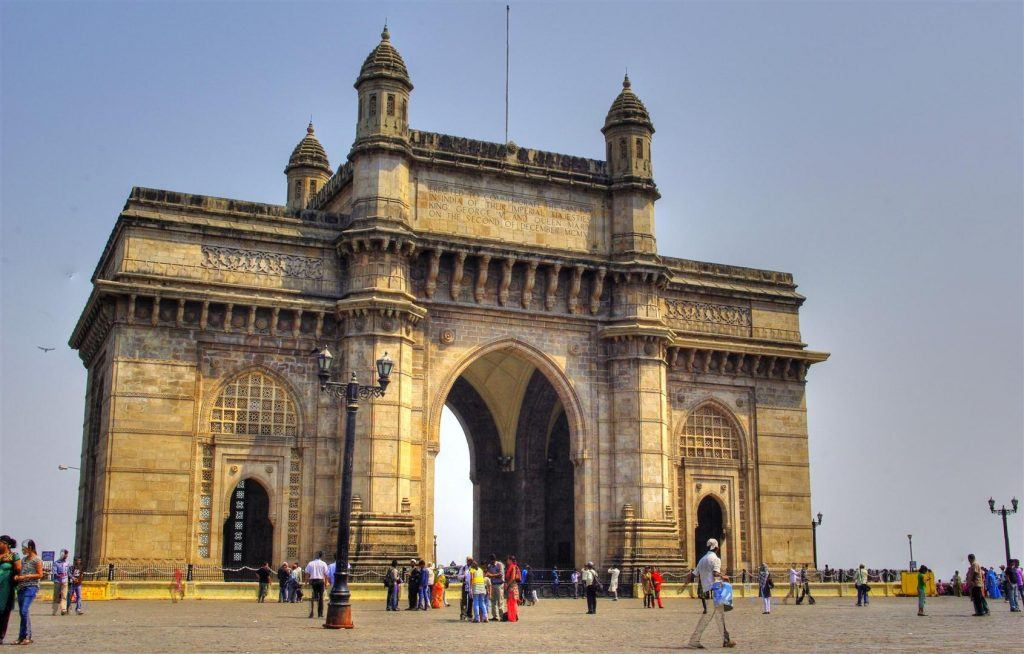 Walk along the Gateway of India