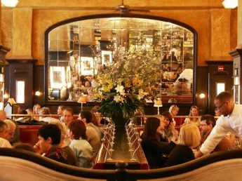 Balthazar in NYC