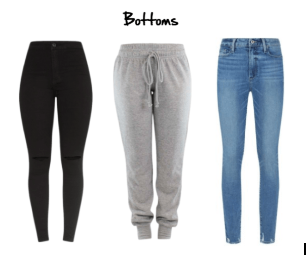 Bottoms: Guide to Airport Fashion