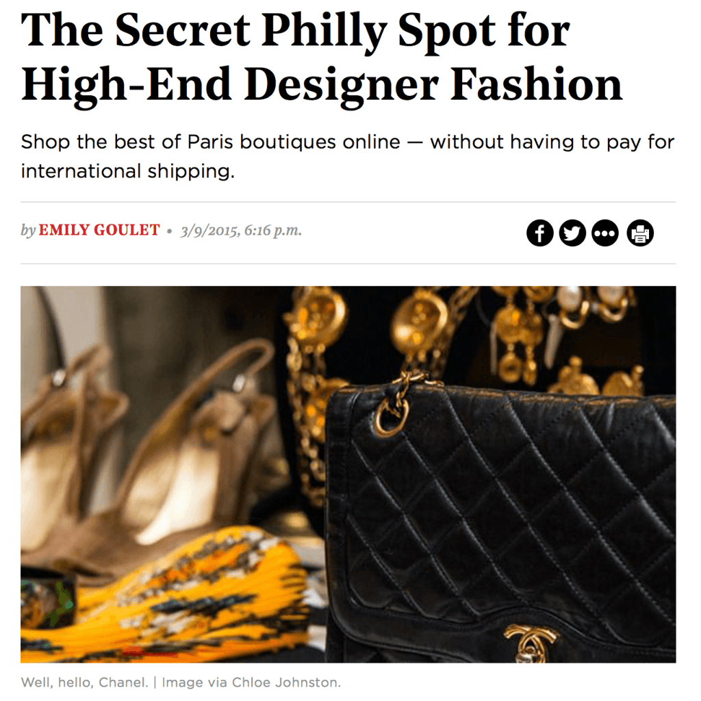 The Secret Philly Spot for High-End Designer Fashion