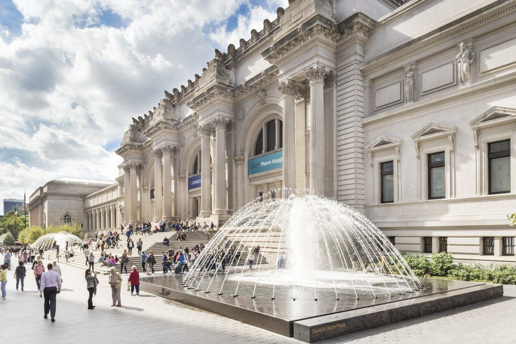 The Met - Facade and Fountains