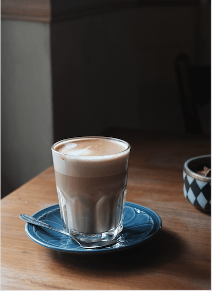 What to order in an Italian cafe when you want something mild: Caffe Latte