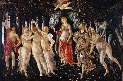 CJE Must See in Uffizi- 420px-Botticelli-primavera