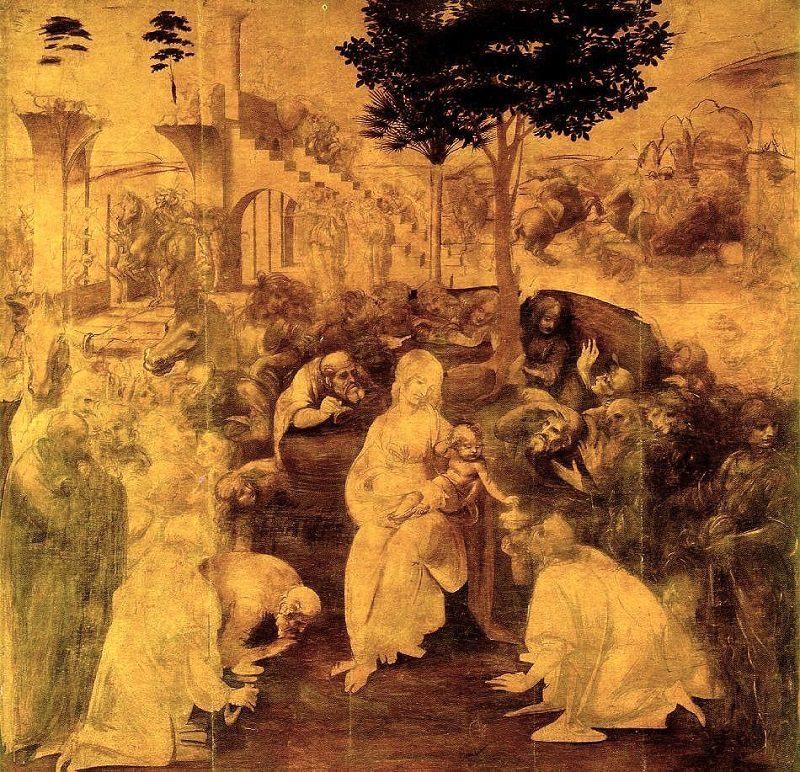 CJE Must See in Uffizi-Leonardo Da Vinci