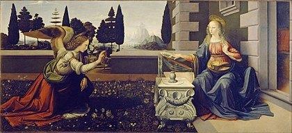 CJE Must See in Uffizi-Leonardo Da Vinci-Sandro Botticelli-agnolo-annunciation